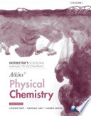 Instructor S Solutions Manual To Accompany Atkins Physical Chemistry Ninth Edition