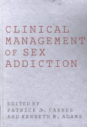 Book Clinical Management of Sex Addiction