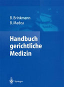 Handbuch gerichtliche Medizin