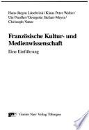 Franz  sische Kultur  und Medienwissenschaft