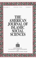 download ebook american journal of islamic social sciences 11:1 pdf epub