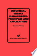 Industrial Energy Management  Principles and Applications