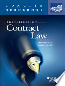 Principles of Contract Law  3d  Concise Hornbook Series