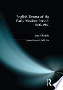 English Drama of the Early Modern Period 1890 1940