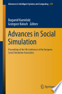Advances In Social Simulation