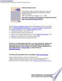 Water Chemicals Codex