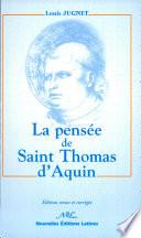 La Pens E De Saint Thomas D Aquin