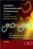 Complex Macromolecular Architectures