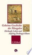 Geheime Geschichte der Mongolen
