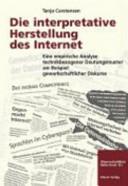 Die interpretative Herstellung des Internet