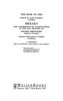Book of Lies Instructive Paradoxes That Challenge And Exhilarate