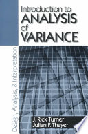 Introduction to Analysis of Variance  Design  Analyis   Interpretation