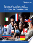 Comparative Indicators of Education in the U. S. and Other G-8 Countries (2009)