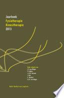 Jaarboek Fysiotherapie Kinesitherapie 2013