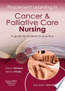 Placement Learning in Cancer   Palliative Care Nursing   E Book