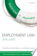 Employment Law 2014 and 2015