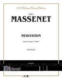 Meditation from the Opera Thas: Sheet