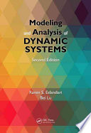 Modeling and Analysis of Dynamic Systems  Second Edition