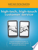 High Tech  High Touch Customer Service