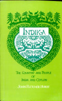 Indika, The country and People of India and Ceylon