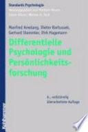 Differentielle Psychologie und Pers  nlichkeitsforschung