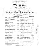 Workbook for Learning about Latin America