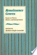 Renaissance Genres