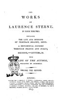 download ebook the works of laurence sterne in four volumes pdf epub