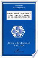 Libéralisation commerciale et évolution des économies du sud de la Méditerranée