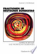 Fraktionen im Deutschen Bundestag 1949     1997