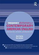 A Frequency Dictionary of Contemporary American English Book