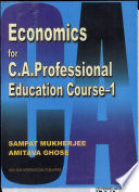 Economics for C.A. Professional Education Course 1