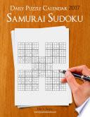 Daily Samurai Sudoku Puzzle Calendar 2017