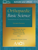 Orthopaedic Basic Science: Foundations Of Clinical Practice : guaranteed by the publisher for quality, authenticity,...