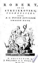 Robert Of De Struikrovers Tooneelspel Tweede Druk
