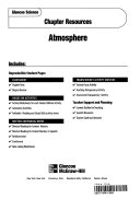 Glencoe Sci Earth Science Chapter 15 Atmosphere Chp Res 514 2002