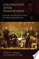 Colonization After Emancipation