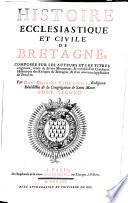Histoire Ecclesiastique et Civile de Bretagne