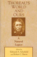Thoreau s World and Ours