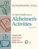 The Best Friends Book Of Alzheimer S Activities