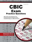 Cbic Exam Practice Questions