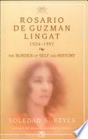 Rosario de Guzman Lingat, 1924-1997