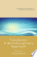 Translation  A Multidisciplinary Approach