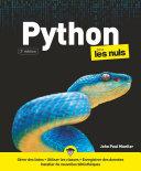 Python Pour Les Nuls 3e D