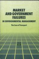 Les Défaillances Du Marché Et Des Gouvernements Dans la Gestion de L'environnement