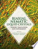 Biaxial Nematic Liquid Crystals book