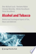 Alcohol and Tobacco Book PDF