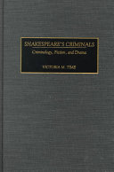 Shakespeare's criminals