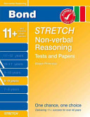 Bond Stretch Non-Verbal Reasoning Tests and Papers 8-9 Years