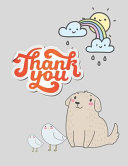 Thank You Notebook Journal Gift